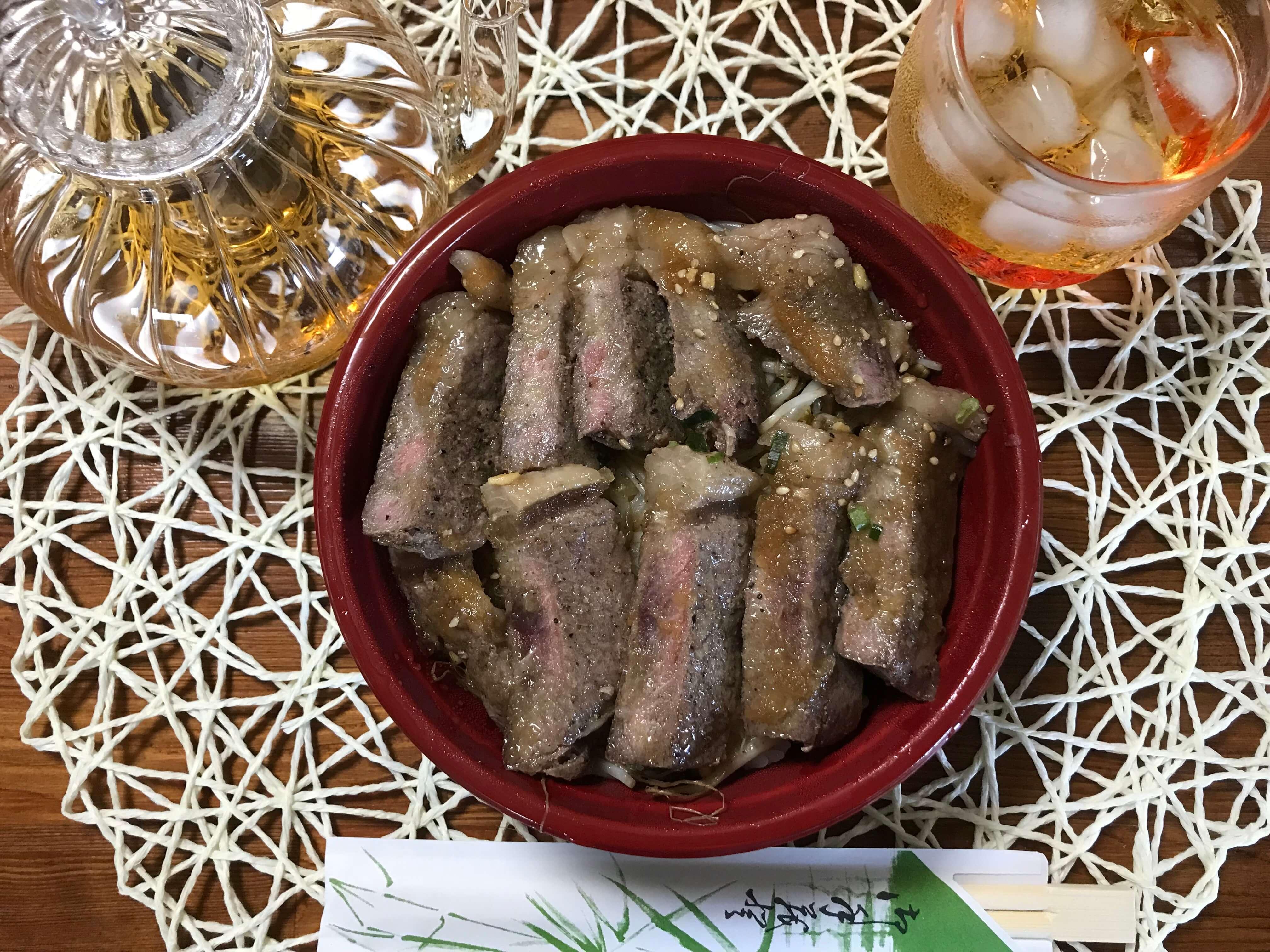 肉のイナミサーロイン丼