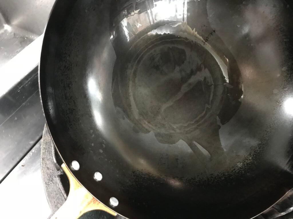 フライパン油